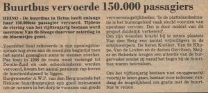 150.000 passagier